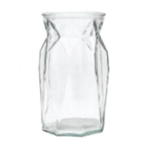 geo-cut vase
