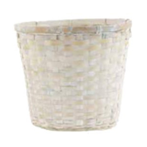 white wash pot cover