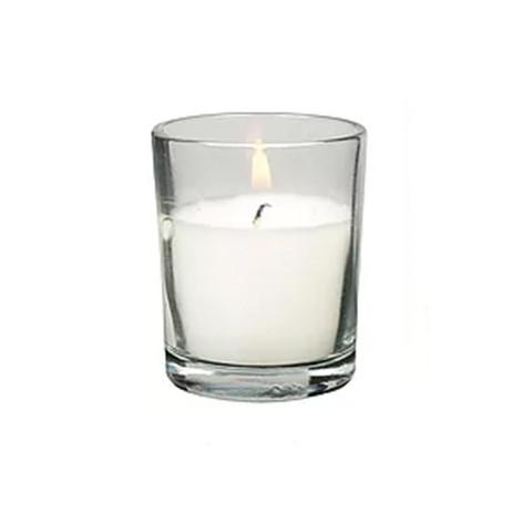 10hr glass votive