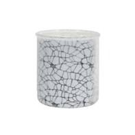 frosted crackle cylinder