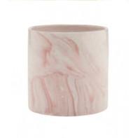 blush marble cylinder