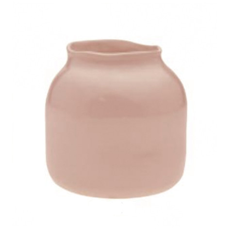 opaque blush pot