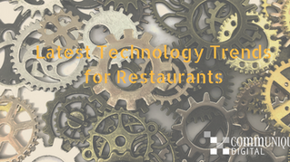 Latest Digital Technologies that are trending and can be used by a Restaurant