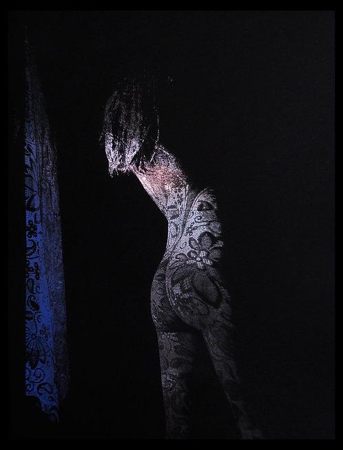 Paulina silver curtain