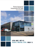 BROCHURE, INDUSTRIAL INVESTMENT