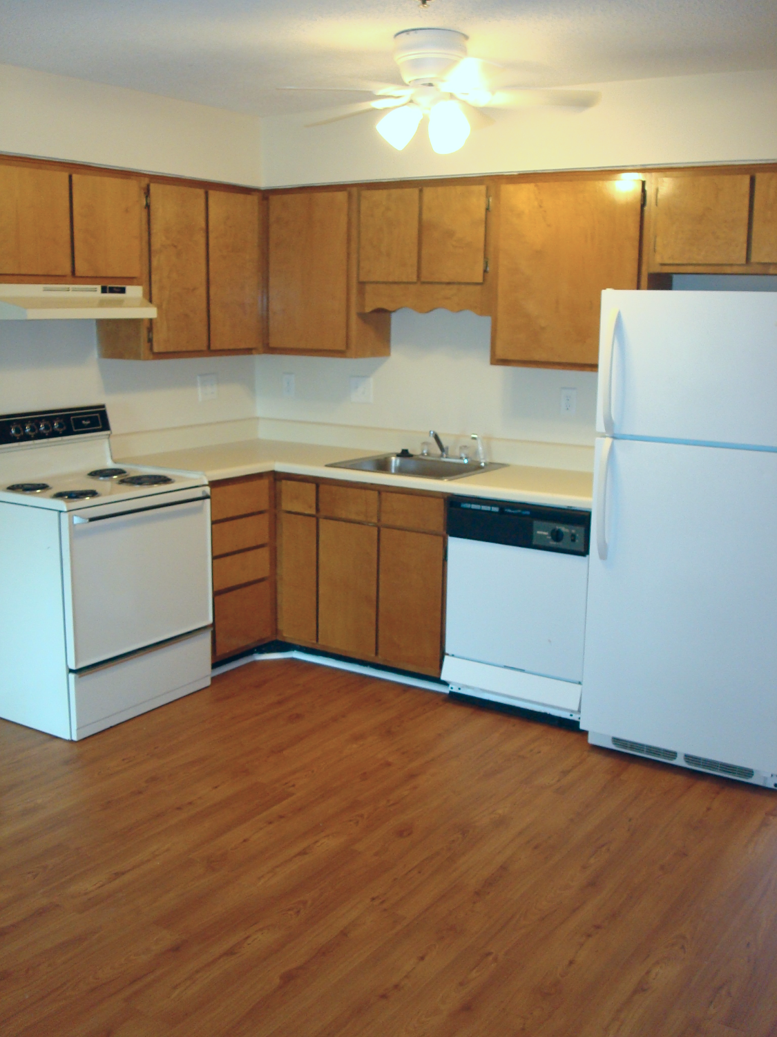 Standard Package:  Kitchen