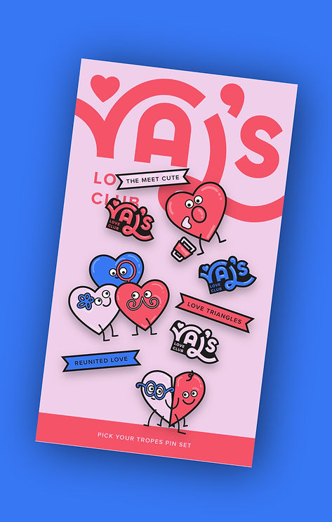 Val's Pins Set