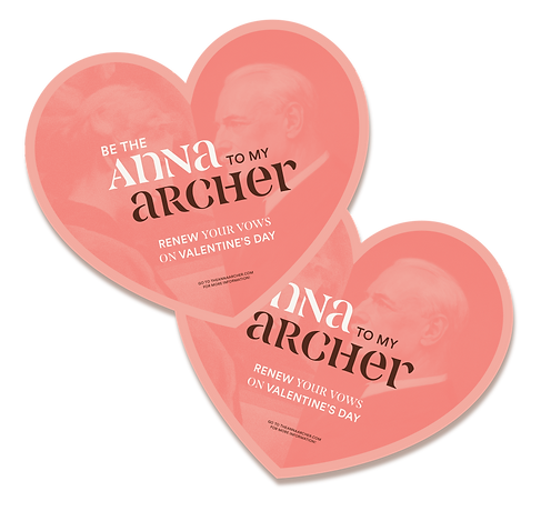 Anna Archer Valentines Invites