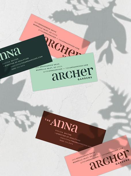 Anna Archer Business Card