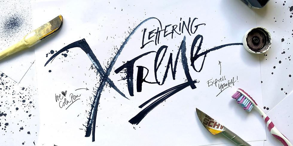 LearnUp! Workshop - Lettering Extreme