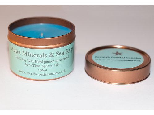 Aqua Minerals and Sea Kelp Candle