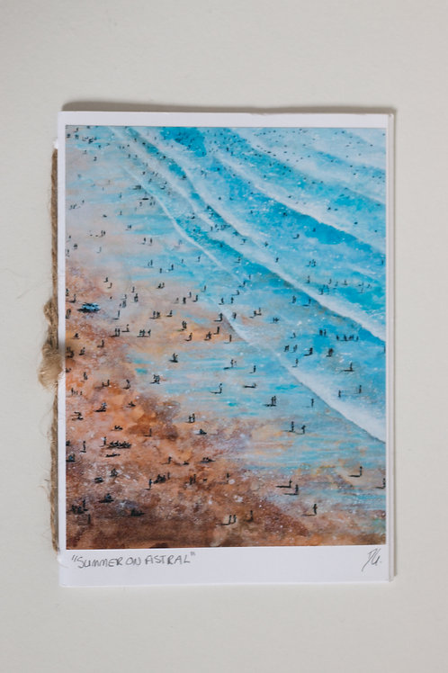 Fistral Beach Painting Notebook