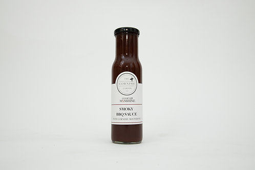 Smoky BBQ Sauce with Cornish Moonshine Whiskey