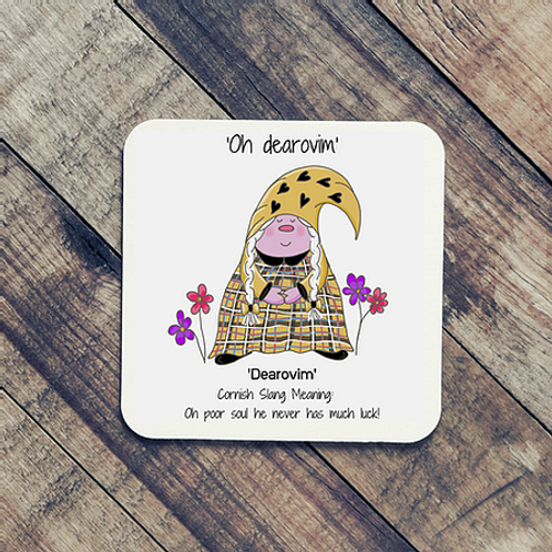 Dearovim Cornish Gnome Coaster