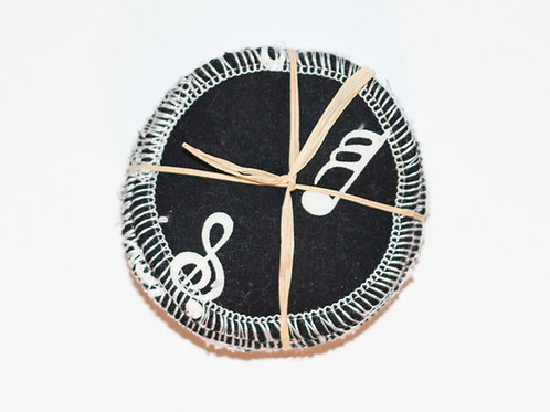 Music Note Reusable Make Up pads- 8 Pack