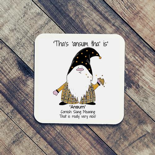 'Ansum Cornish Gnome Coaster