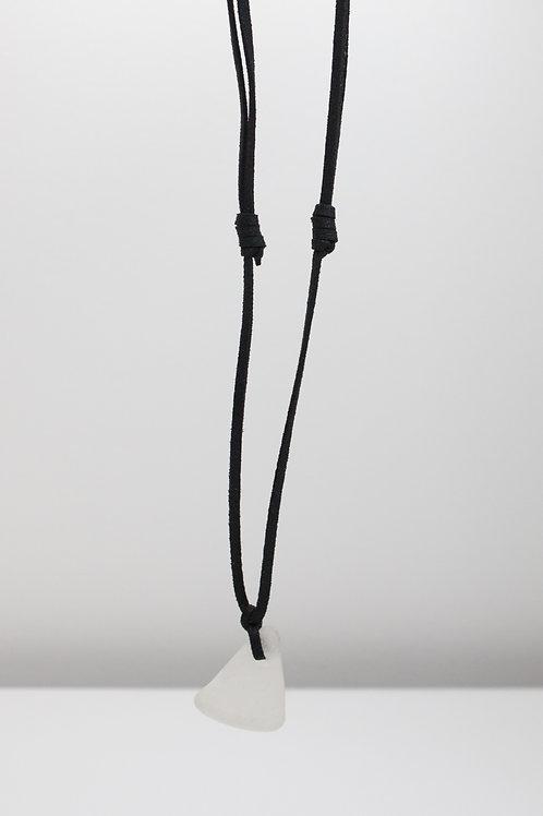 Cream Sea Glass Necklace Collection