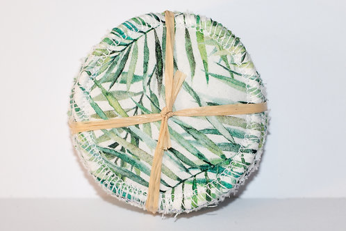 Green Leaf Resuable Make Up Pads- 8 Pack
