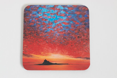 St Michael's Mount Painting Coaster