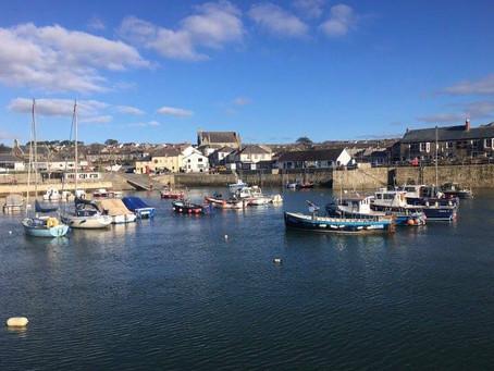 Cornish Coast Path Challenge- Porthleven to Praa Sands