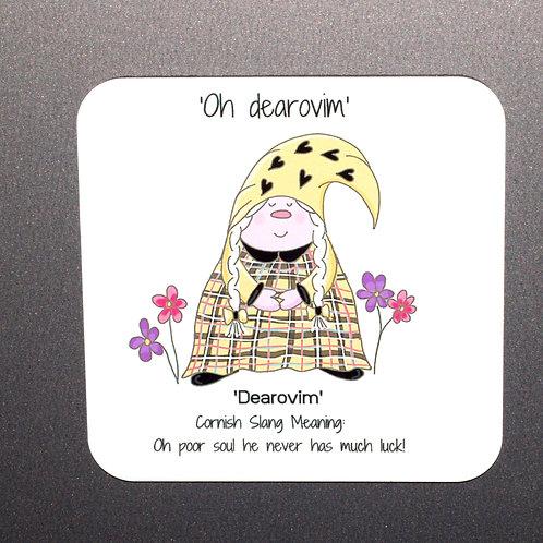 'Dearovim' Cornish Gnome Magnet