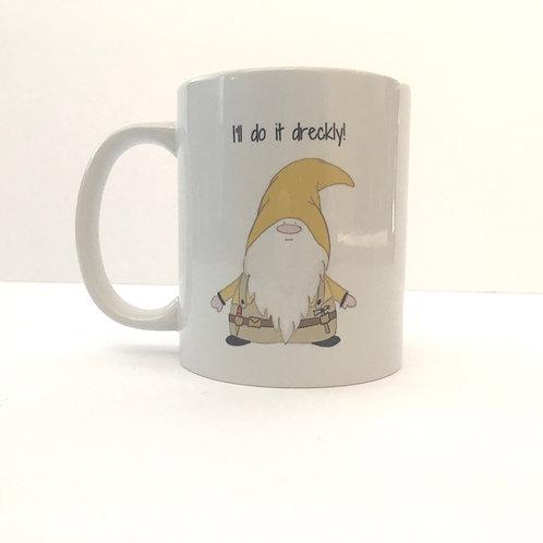 Dreckly Cornish Gnome Mug