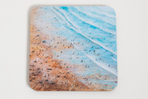 Fistral Beach Painting Coaster