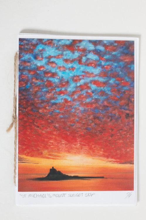 St Michael's Mount Painting Notebook