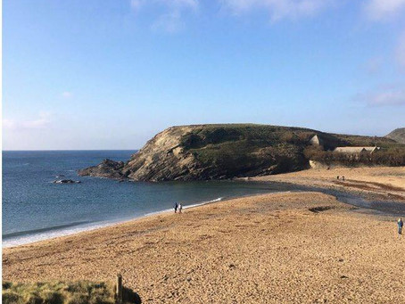 Cornish Coast Path Challenge- Gunwalloe to (Almost) Kynance Cove
