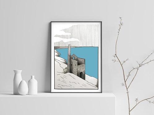 Wheal Coates Print