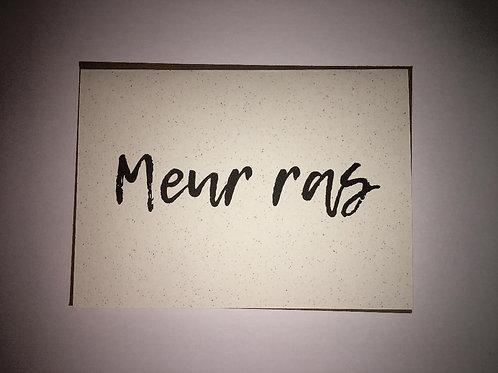 Cornish Language Thank You Card