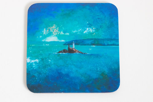 Godrevy Painting Coaster
