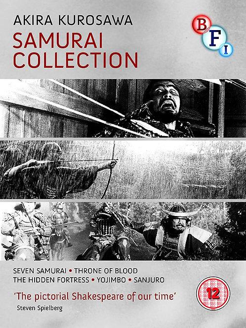 Akira Kurosawa Samurai Collection (Blu-Ray)