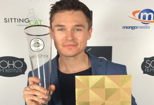 'Ophelia's Sam Underwood Wins Best Actor at Soho Film Festival
