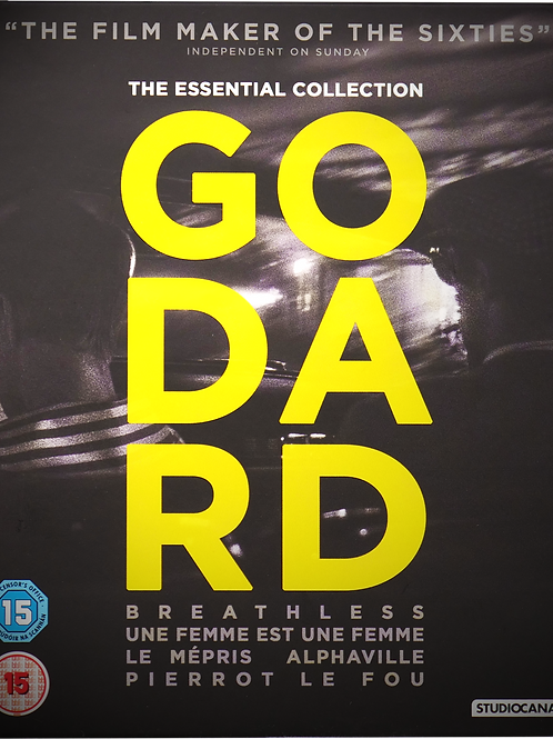 Godard: The Essential Collection (Blu-Ray)
