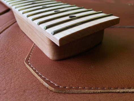 Invisible fret ends