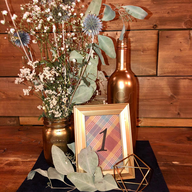 Touch of Gold centrepiece
