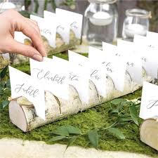 Log Place Card Holder