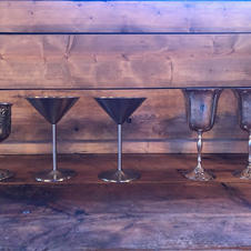 Silver Goblets & Chalise
