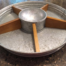 Rustic Spinning Tray