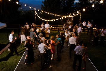 Dancing under the stars!