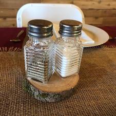 Salt & Pepper Mini Shakers