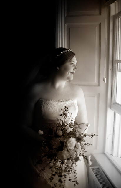 Bridal Prep (Bride) B&W.jpg