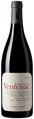 Grand Coeur Wines - Maison Ventenac - Coup de Sang - Cabernet Sauvignon