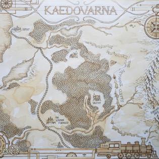 Map of Kaedovarna