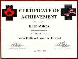Basic Equine 1st Aid 2018