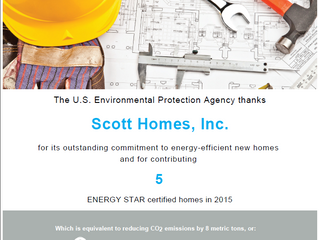 The U.S. Environment Protection Agency thanks us for our hard work!