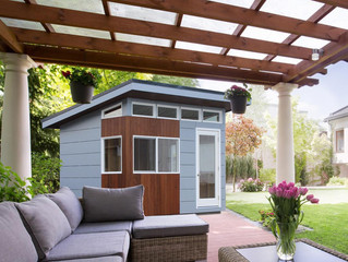 5 tips to create a personalized shed Create an outdoor oasis with a personalized shed