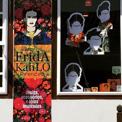Exposição Frida Kahlo,  Pirenópolis, GO, 2016