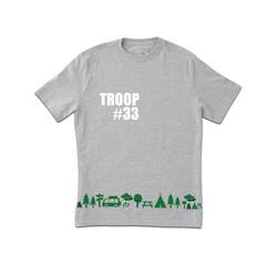 Grey Troop Tshirt